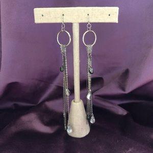 bebe Multi Chain Drop Earrings